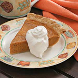 Light Sweet Potato Pie Recipe