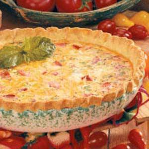 Best-of-Show Tomato Quiche Recipe
