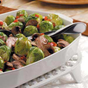 Herbed Brussels Sprouts Recipe