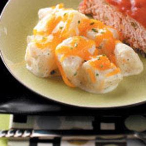 Makeover Sour Cream Potatoes Recipe