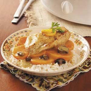 Orange Chicken with Sweet Potatoes Recipe