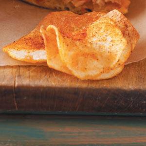 Homemade Barbecue Potato Chips Recipe