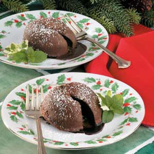 Makeover Molten Chocolate Cakes Recipe