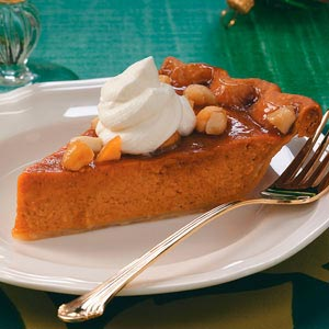 Sweet Potato Praline Pie Recipe