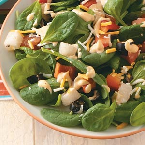 Tex-Mex Spinach Salad Recipe