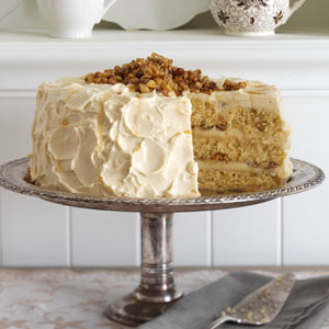 Maple Walnut Cake Recipe