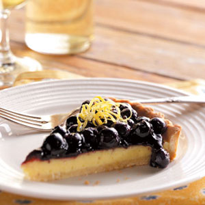 Lemon Blueberry Tart Recipe