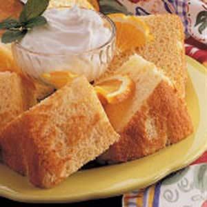 Sunny Sponge Cake Recipe