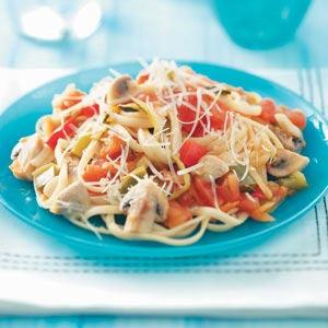 Mushroom Primavera Pasta Sauce Recipe