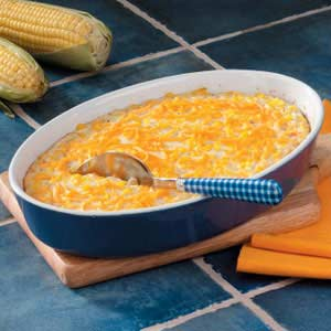 Makeover Monterey Jack Corn Bake Recipe