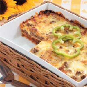 Barbecue Lasagna Recipe