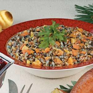Apricot-Pecan Wild Rice Recipe