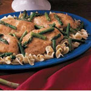 Asparagus Chicken Fricassee Recipe