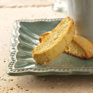 Lime Coconut Biscotti Recipe