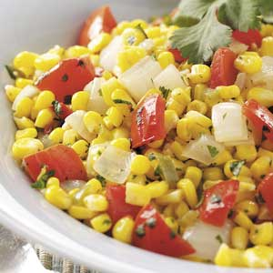 Southwest Corn and Tomatoes Recipe