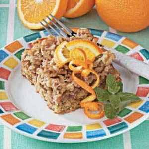 Walnut Orange Coffee Cake Recipe
