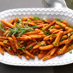 Rosemary Roasted Baby Carrots Recipe