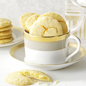 Orange & Lemon Wafer Cookies Recipe