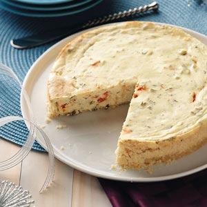 Herbed Cheesecake Recipe