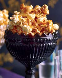 Tequila-Spiked Caramel Corn