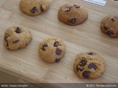Low Calorie Low Fat Chocolate Chip Cookies