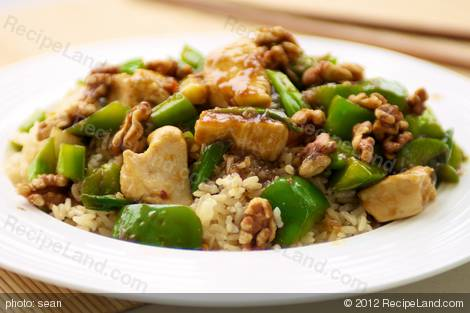 Al And Tipper Gore's Chinese Chicken with Walnuts