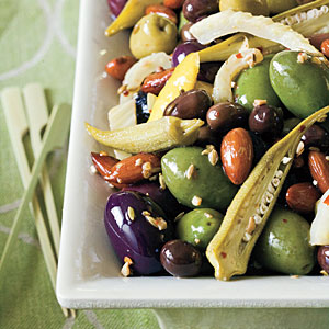 Warm Olive Sauté