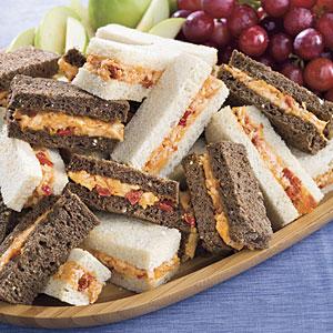 "Smoky ""Pimiento"" Cheese Sandwiches"