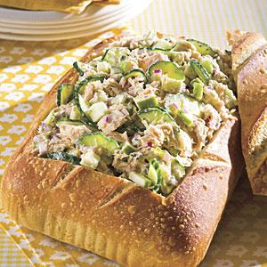 Tuna Salad With Lemon Aïoli