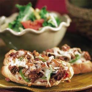Veggie Sausage Pizzas