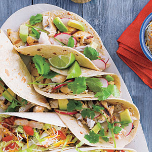 Grilled Tilapia Soft Tacos