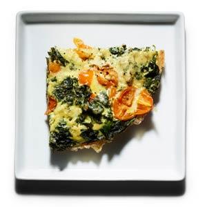 Braised Kale Frittata