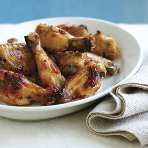 Lemon-drop Chicken Wings