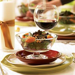 Baby Romaine and Blood Orange Salad