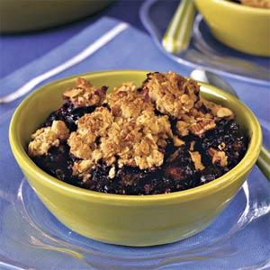 Blueberry-Almond Cobbler