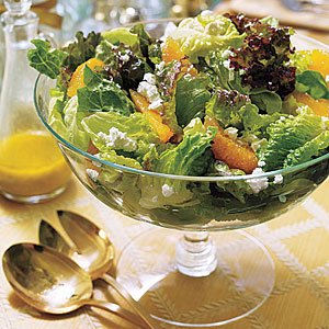 Mixed Green Salad with Oranges
