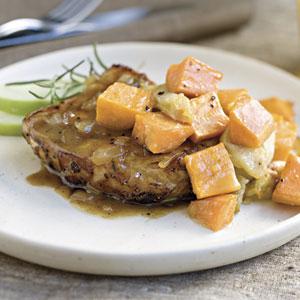 Savory Herb Pork Chops