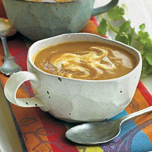 Moroccan Butternut Soup