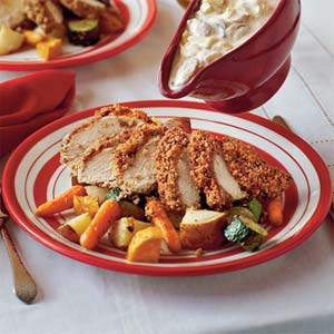 Baked Pecan Chicken
