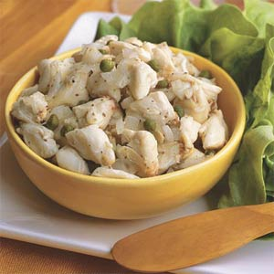 Lump Blue Crab Salad Wraps