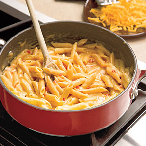 Easy Skillet Pimiento Mac 'n' Cheese