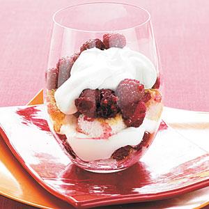 Raspberry-Lemon Parfaits