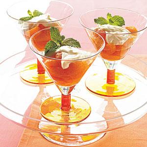Mandarin Oranges with Grand Marnier and Mascarpone