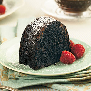 Double-Chocolate Bundt Cake