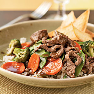 Sirloin and Vegetable Stir-Fry