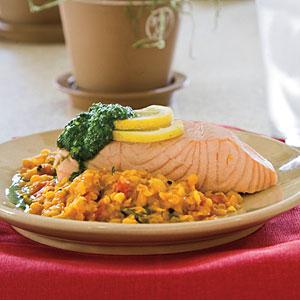 Poached Salmon