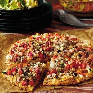 Garden Eggplant Pizza