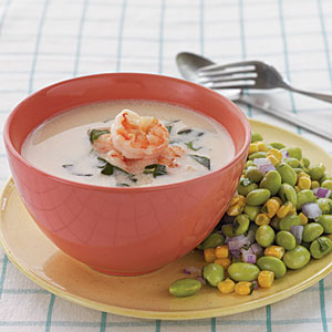 Coconut Shrimp Soup