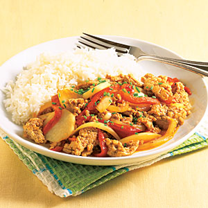 Pork and Pepper Stir-fry