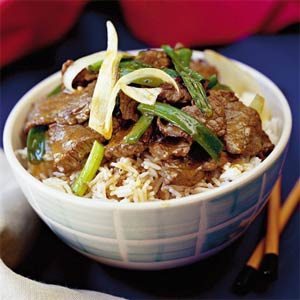 Beef with Ginger